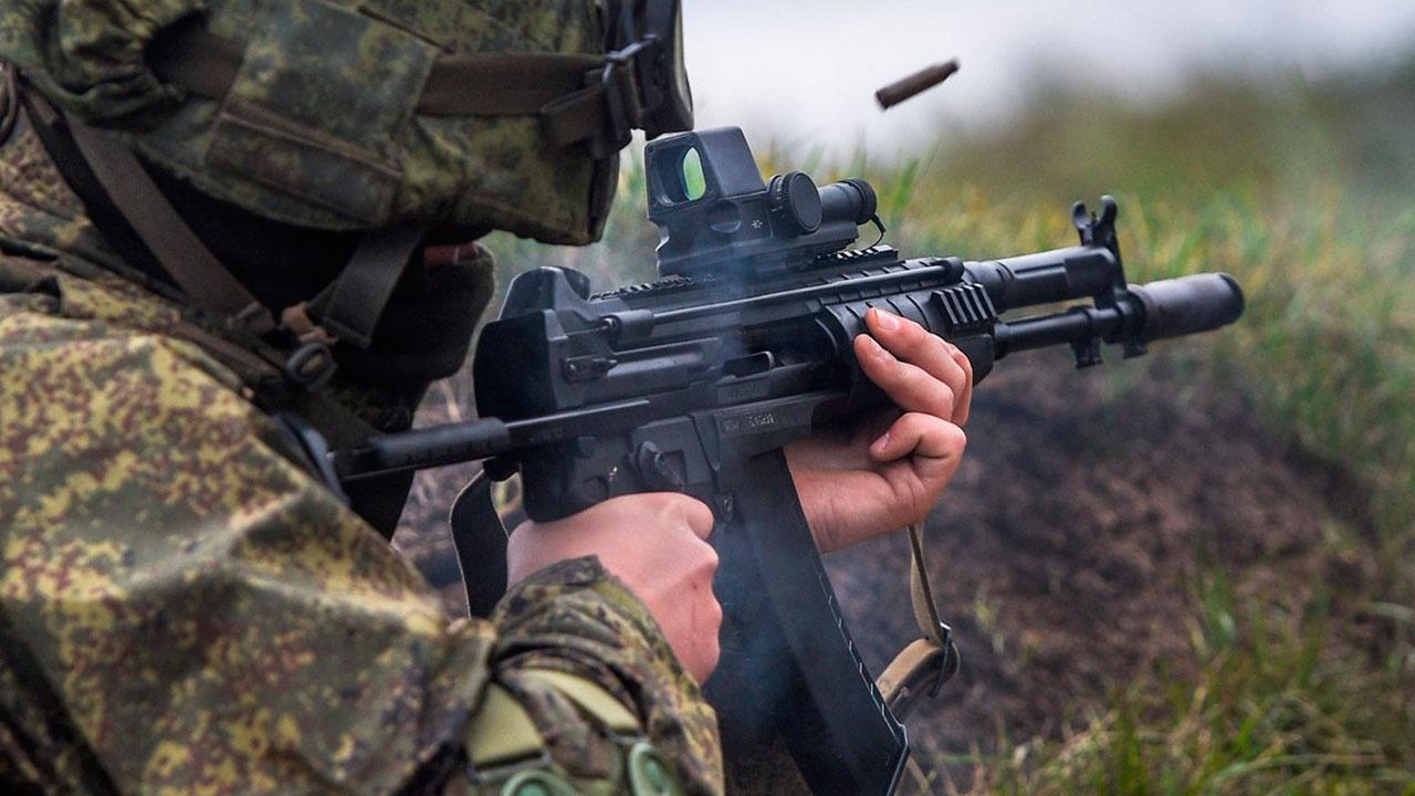 Полк спецназа ЮВО в Ставрополье полностью перевооружен на новейший АК-12
