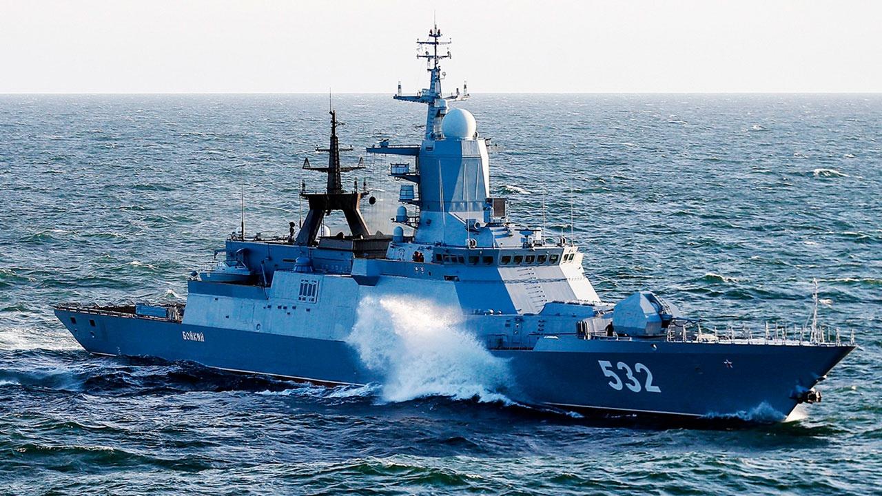 Отряд боевых кораблей Балтийского флота вернулся на базу после дальнего похода
