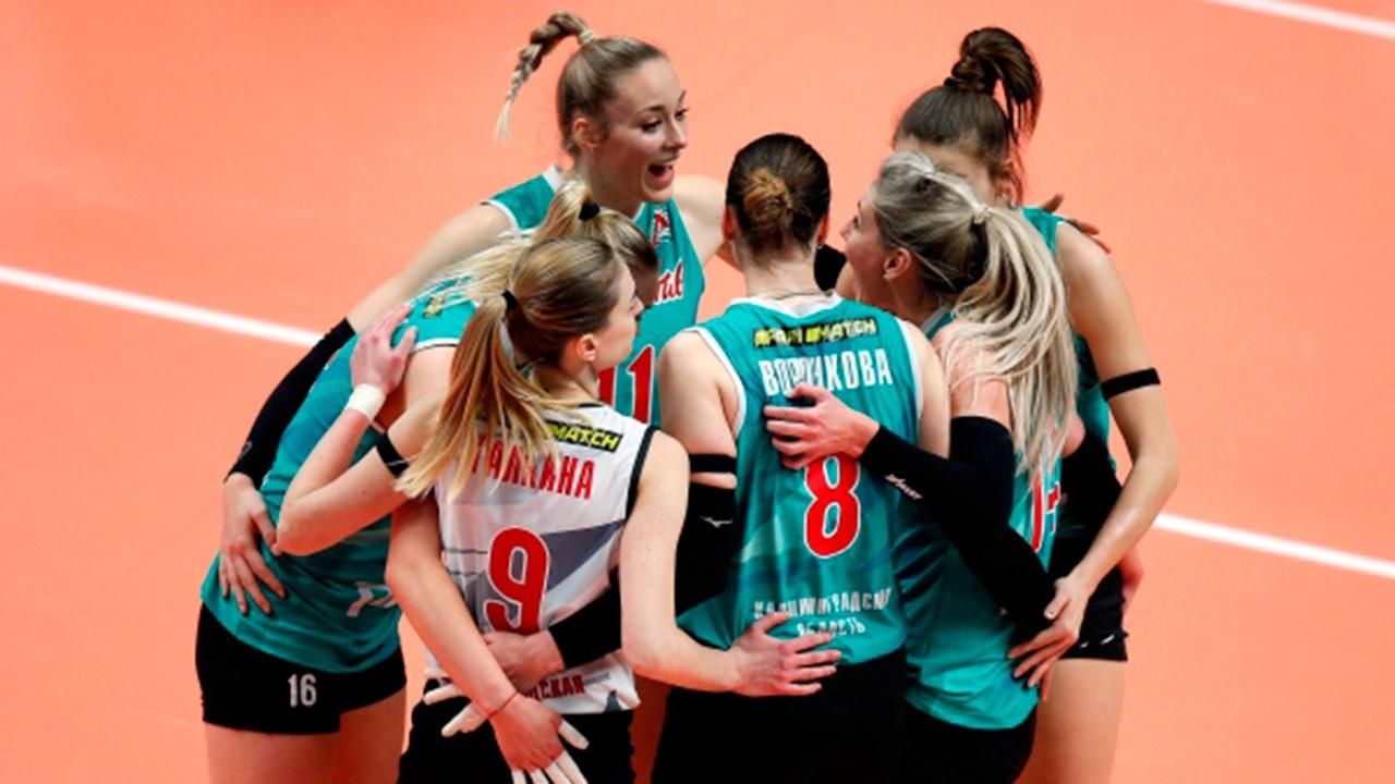 Волейболистки калининградского «Локомотива» впервые в истории стали чемпионками России