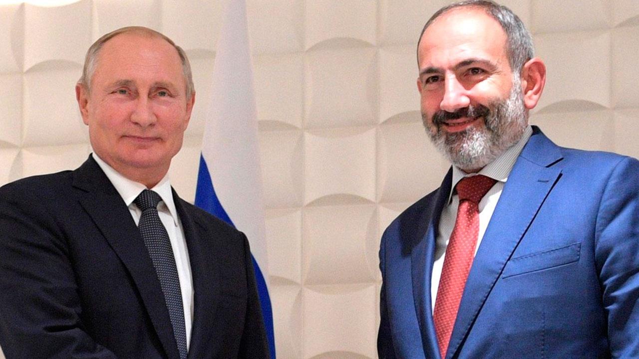 Путин обсудит с Пашиняном проблемы Нагорного Карабаха