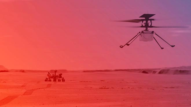 Полет над Марсом: в NASA назвали дату испытания вертолета Ingenuity