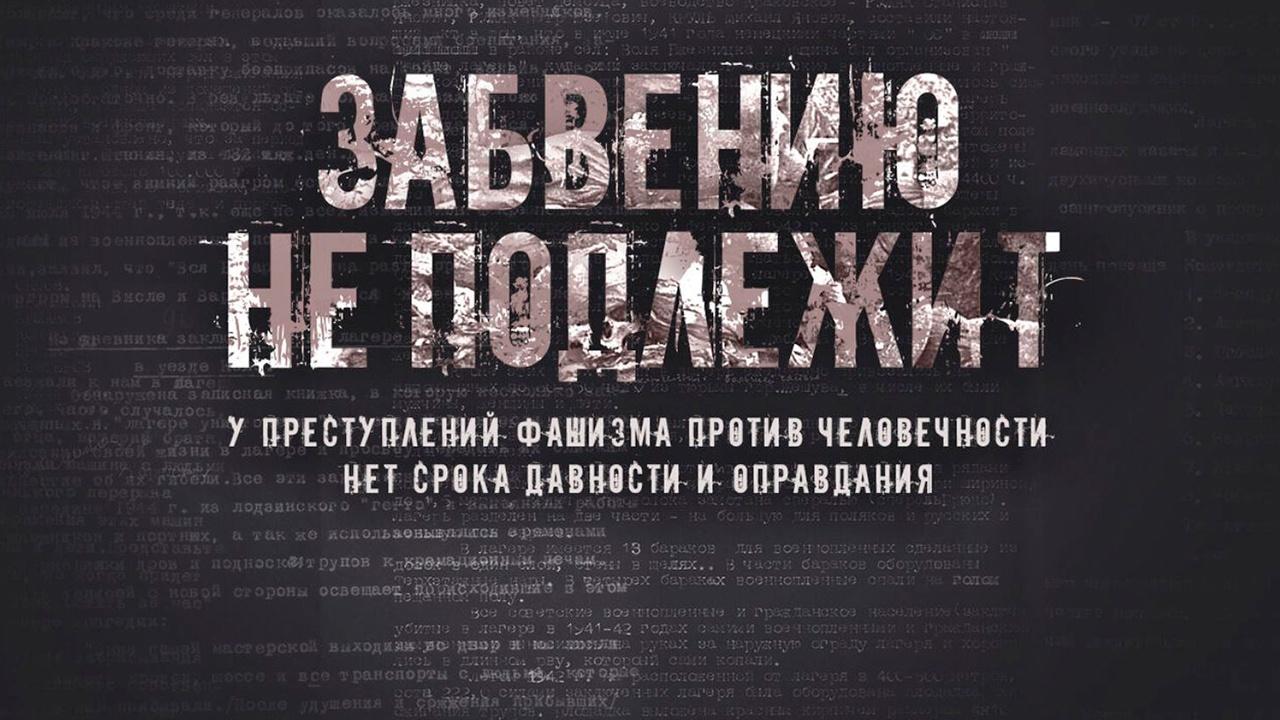 «Забвению не подлежит»: Минобороны рассекретило архивы о зверствах фашистов в годы войны
