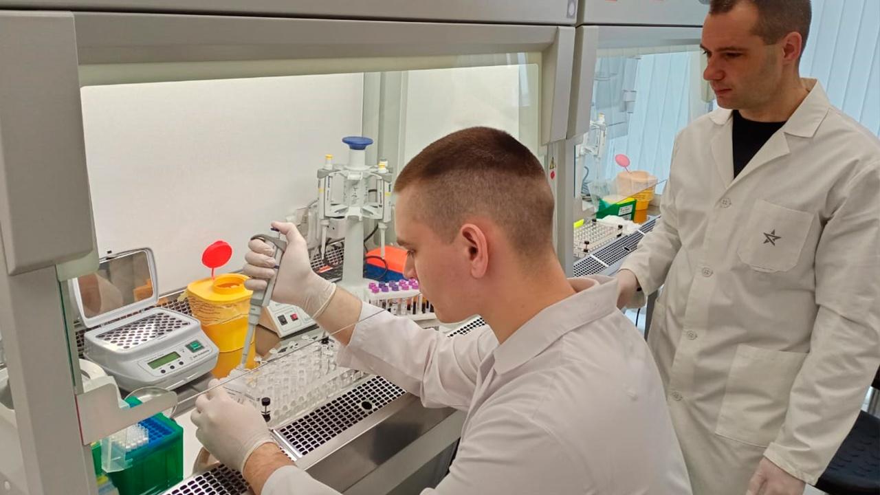 В медико-биологическом кластере технополиса «ЭРА» продолжаются лабораторные исследования в рамках новых научных проектов
