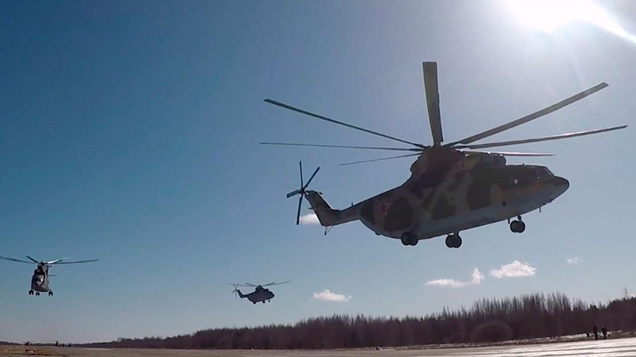 Крупнее не найдете: самые тяжелые серийные вертолеты в мире готовятся к Параду Победы в Подмосковье