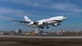 Новый Ил-96-300 впервые поднялся в воронежское небо