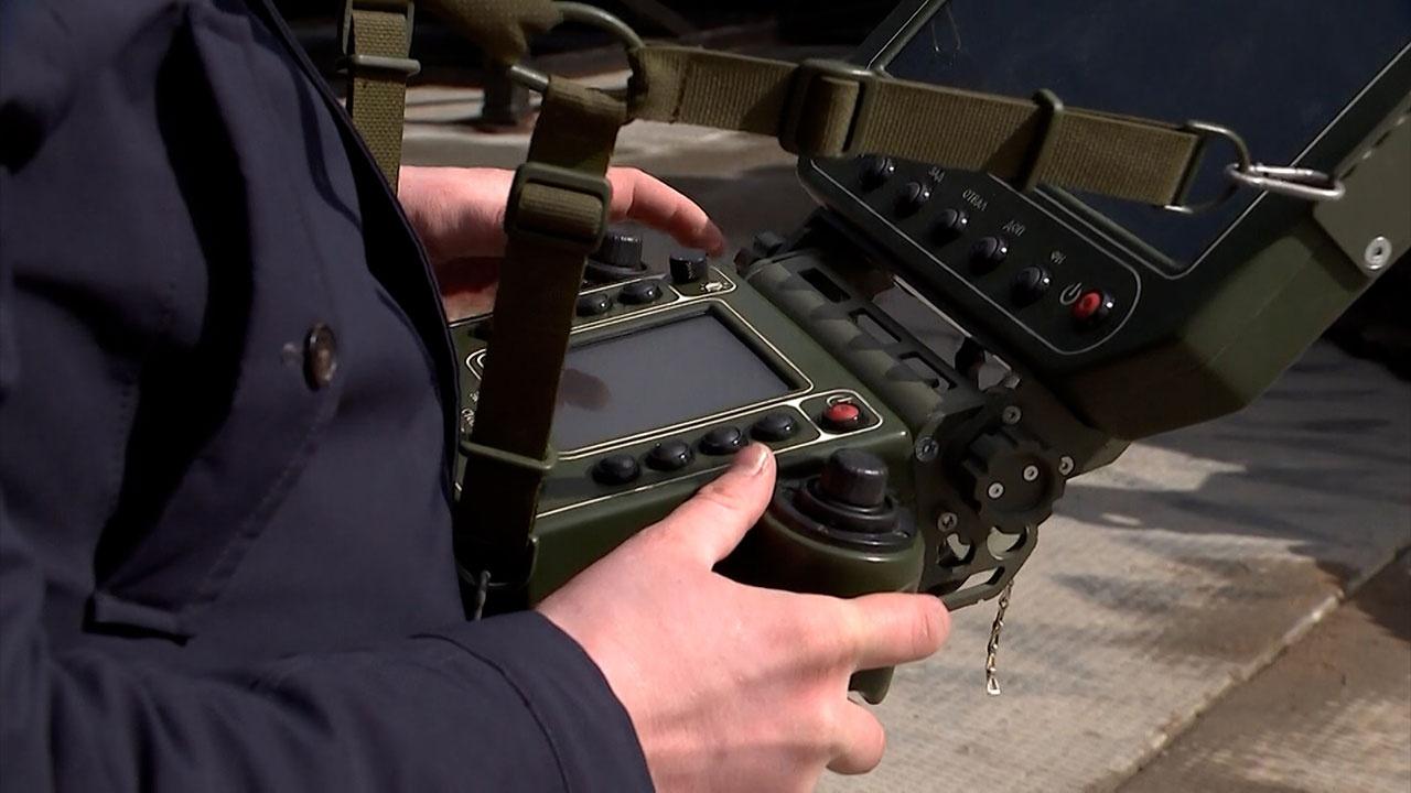 В МО РФ сообщили о разработке новейшего тяжелого робота разминирования