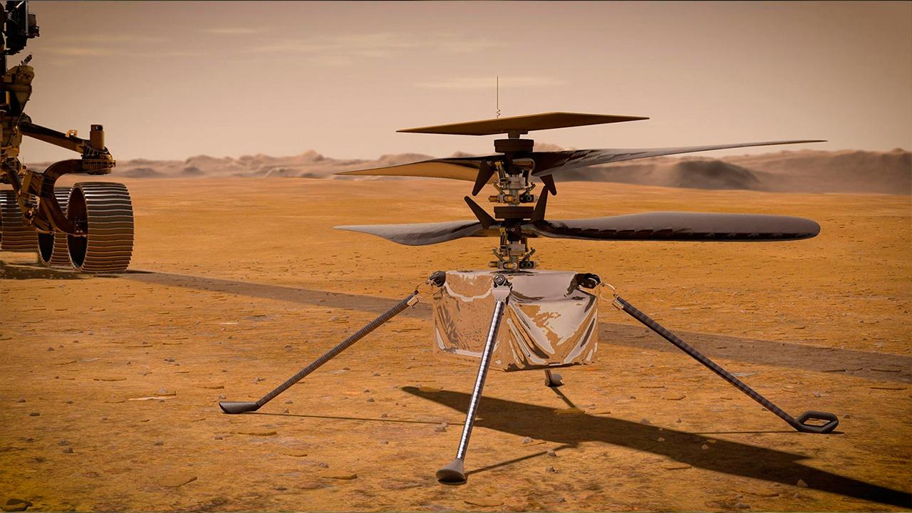 В НАСА перенесли первый полет беспилотника на Марсе