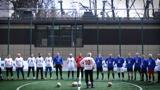 В Москве прошел юбилейный матч Народной футбольной лиги