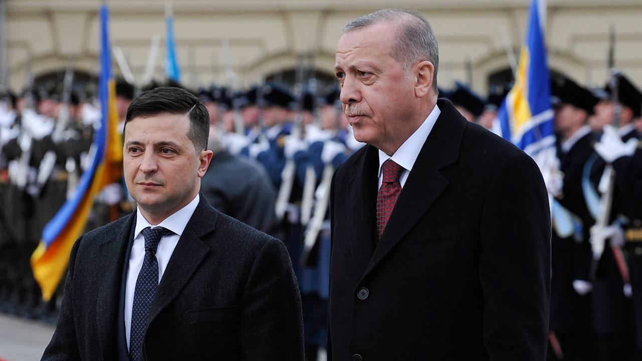 Эрдоган и Зеленский провели переговоры в Стамбуле
