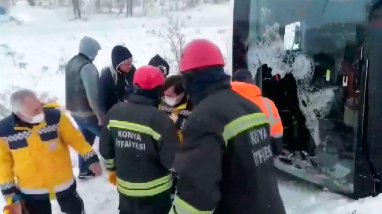 Посольство РФ в Турции уточнило информацию о пострадавших в ДТП с автобусом