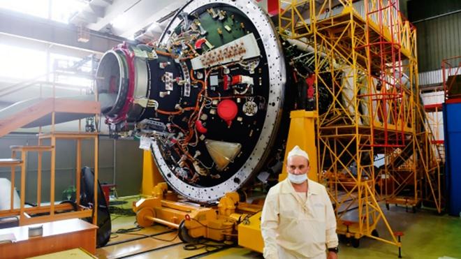 В Роскосмосе сообщили о завершении заводских испытаний модуля МКС «Наука»