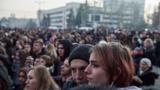 В Кремле отметили важность заботы об интересах русскоговорящих жителей Донбасса