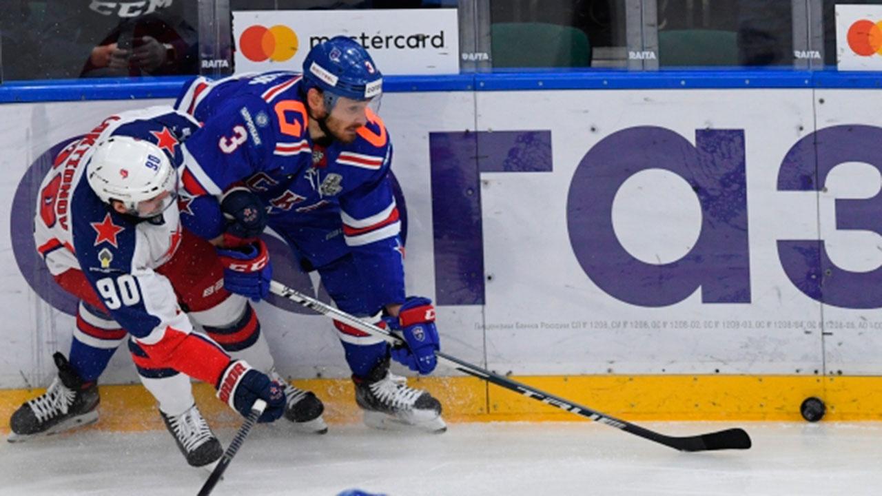 Московский ЦСКА стал первым финалистом Кубка Гагарина, победив СКА
