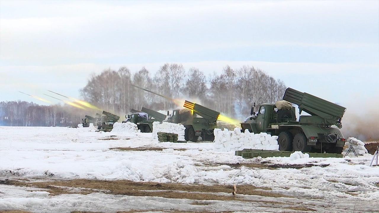 В апреле будет проведено 4048 учений в рамках контрольных проверок боеготовности войск