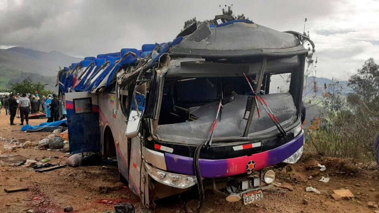 В Перу опрокинулся автобус с пассажирами: минимум 20 погибших