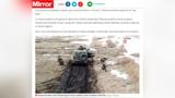 Британские СМИ выдали кадры «Звезды» с учений в Сибири за прибытие российских военных на границу с Украиной