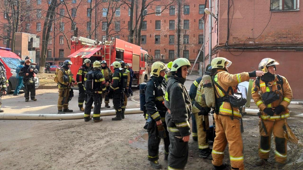 Одной из версий пожара на «Невской мануфактуре» является умышленный поджог