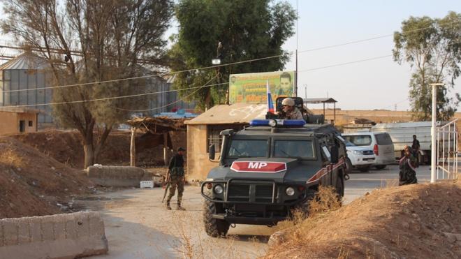 ЦПВС: российская военная полиция сопроводила 90 тысяч мирных жителей по трассе М-4 в Сирии
