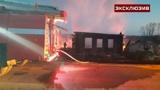 Очевидец пожара в Свердловской области рассказала о пожаре