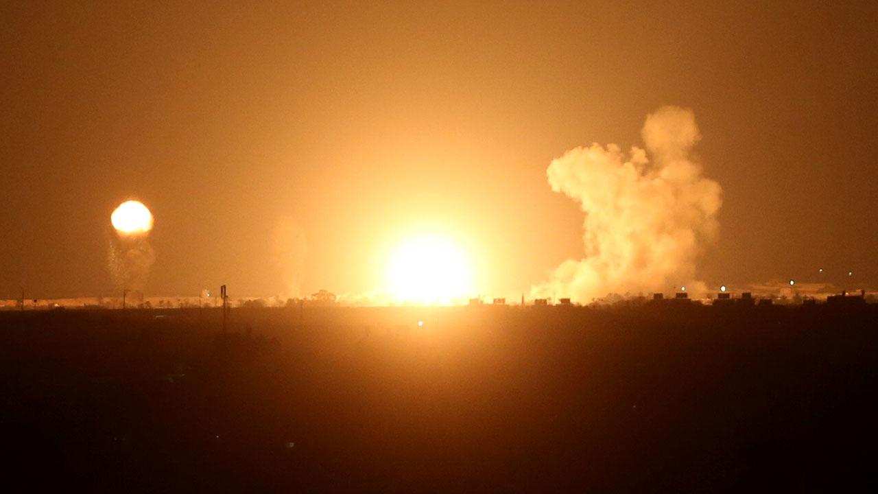 По территории Израиля радикалы из сектора Газа выпустили ракету