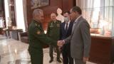 Шойгу заявил, что усилия РФ в Ливии помогли добиться прекращения боевых действий