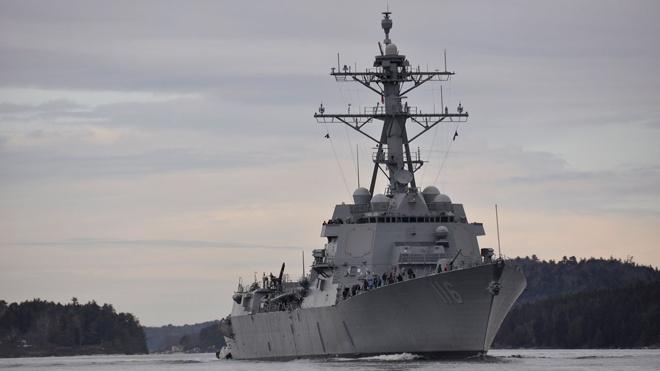 Пентагон: операции военных кораблей США в Черном море продолжатся