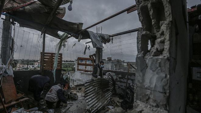 Израильская армия нанесла удары по объектам ХАМАС в ответ на их атаку
