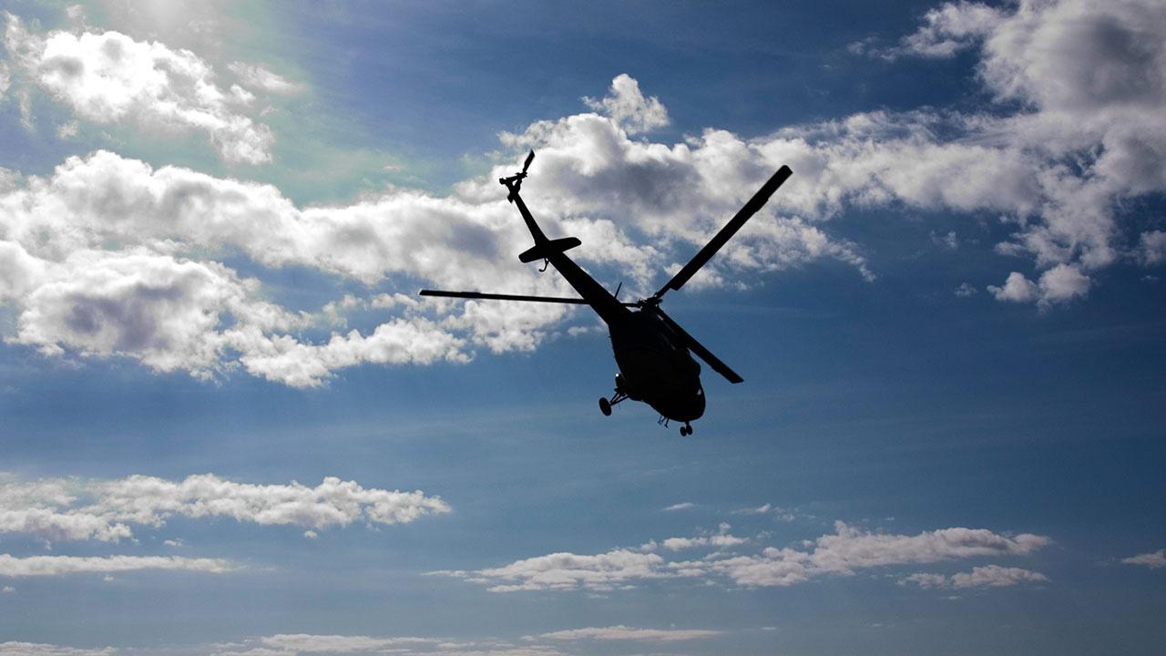 В Краснодарском крае жесткую посадку совершил вертолет Ми-2