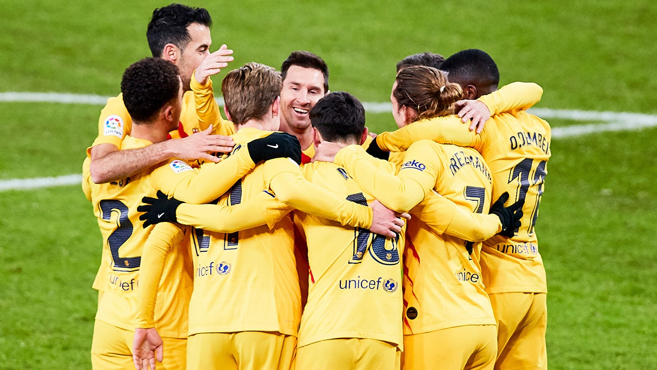 «Барселона» разгромила «Атлетик» и в 31-й раз завоевала Кубок Испании по футболу