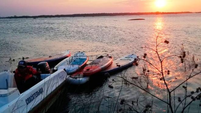 Группу из 27 сапсерферов спасли в Рязанской области