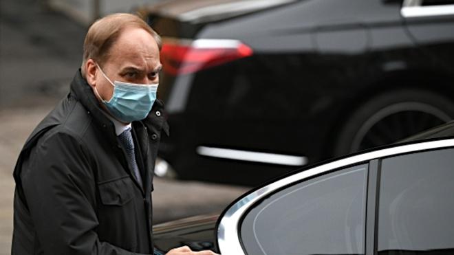 Посол России в США прибыл в МИД РФ