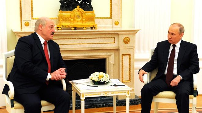 Почти четыре часа: в Москве завершились переговоры Путина и Лукашенко