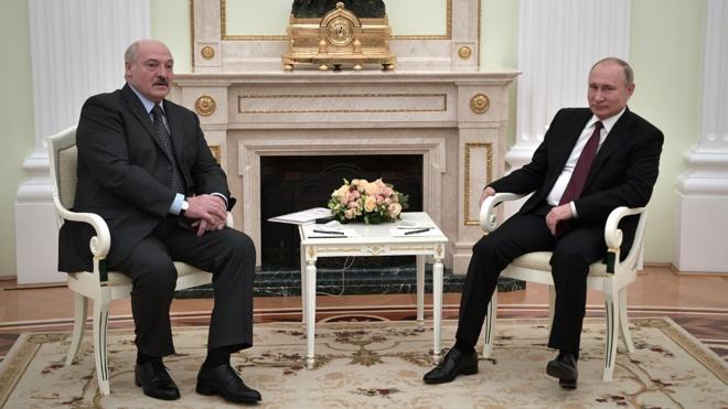 В Кремле заявили, что Путин и Лукашенко обсудят раскрытие диверсионных планов против Белоруссии