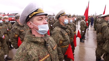 «С меня сошло семь потов»: корреспондент «Звезды» промаршировал в составе роты Почетного караула