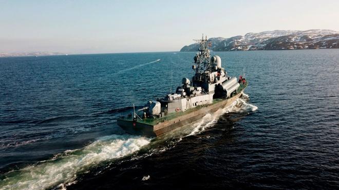 Главнокомандующий ВМФ подвел итоги масштабного учения на Северном флоте