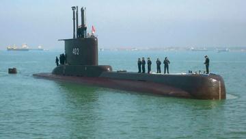 Неопознанный объект нашли недалеко от места исчезновения подлодки ВМС Индонезии