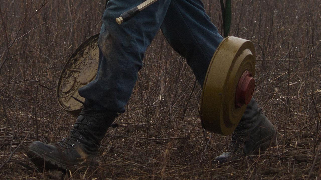 ЛНР: машина ВСУ подорвалась на украинской мине в Донбассе