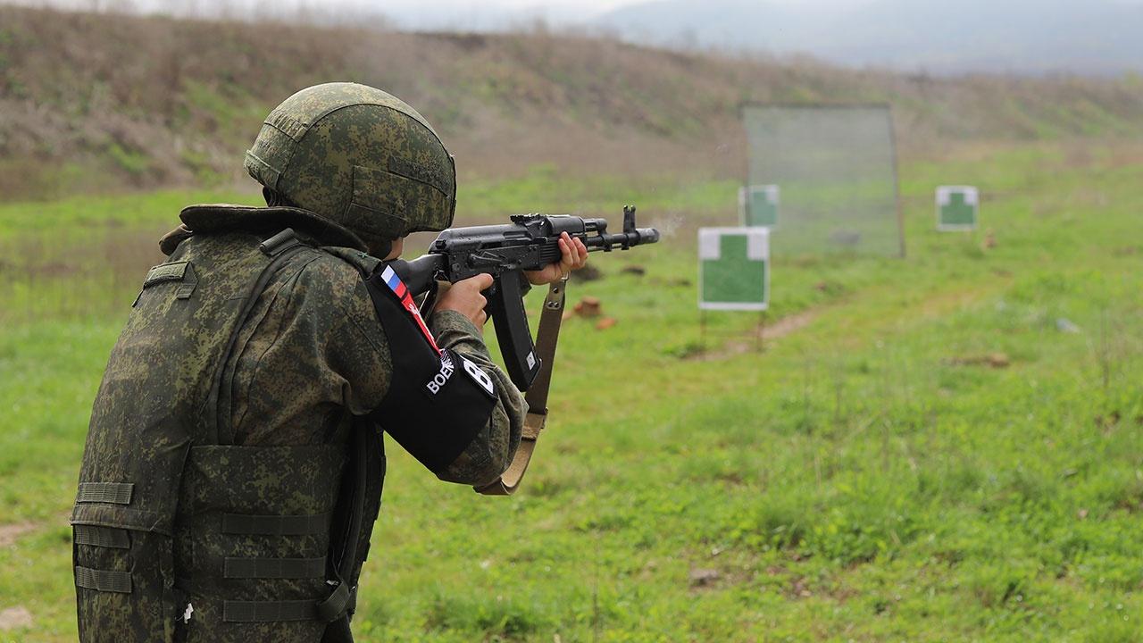 Военные полицейские ЮВО преодолели сложнейшую трассу на конкурсе «Страж порядка»