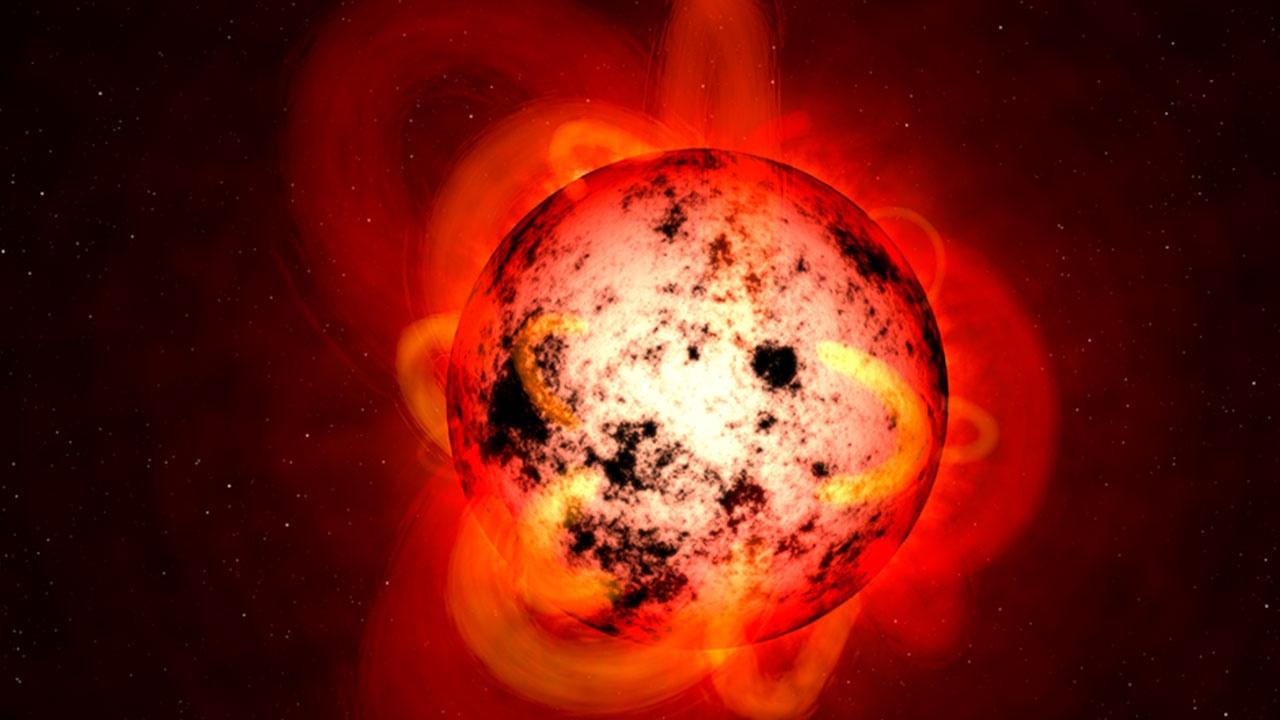 Телескоп Хаббл зафиксировал, как гигантская экзопланета «пожирает» газ и пыль поблизости