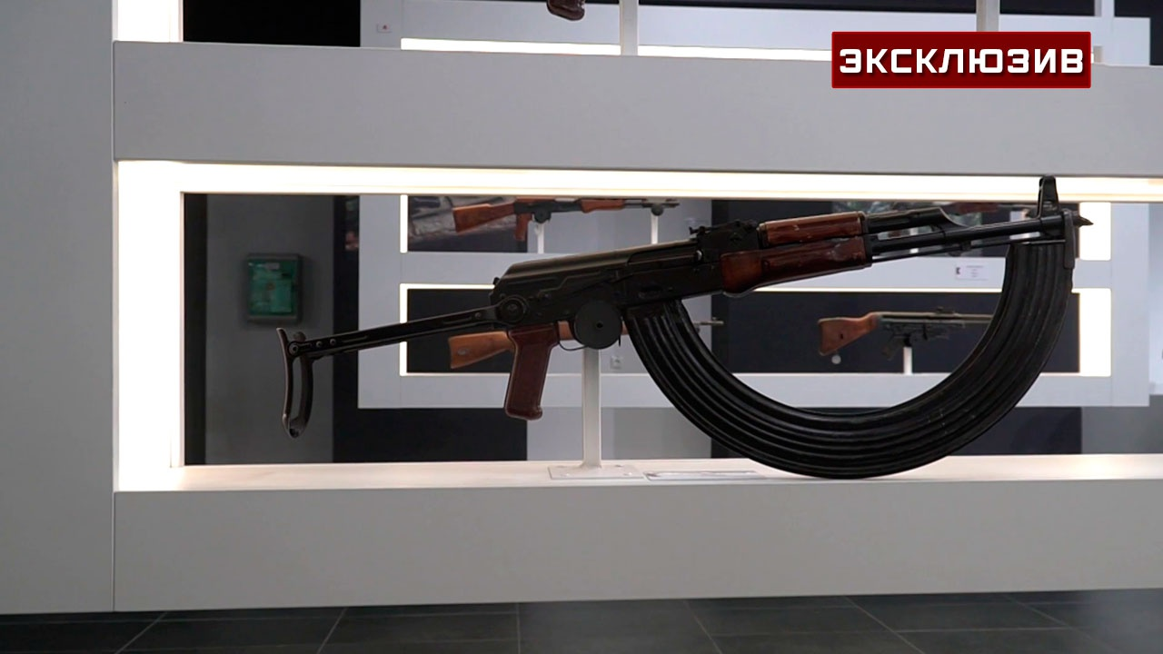 Рожок на сотню: в концерне «Калашников» собрали все лучшие и редкие образцы мировых вооружений