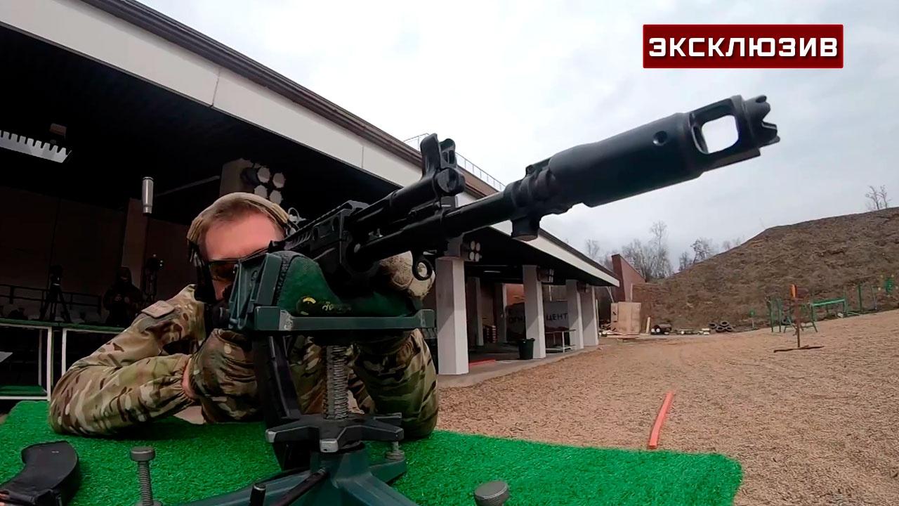 Смертельная дуга: «автоматный снайпер» показал разницу между калибрами пуль АК-12, выстрелив на полкилометра