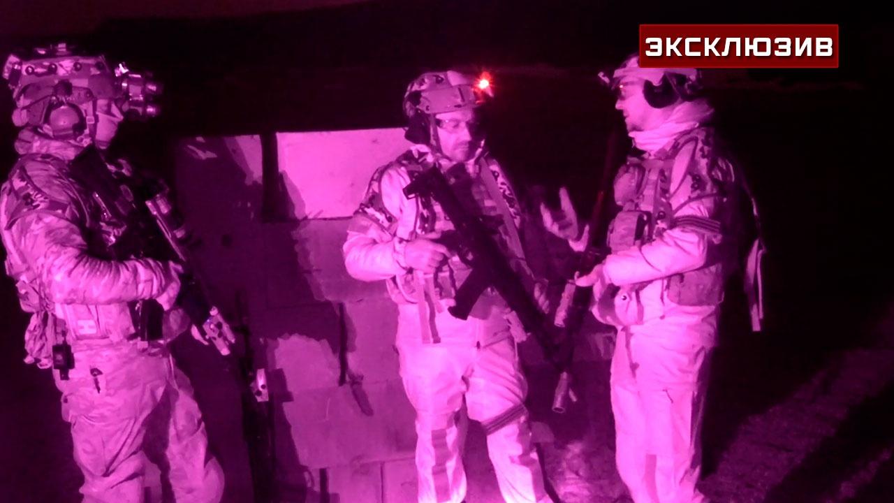 Комбатаг для «Калашникова»: опубликованы кадры ночной битвы с обновленными АК-12