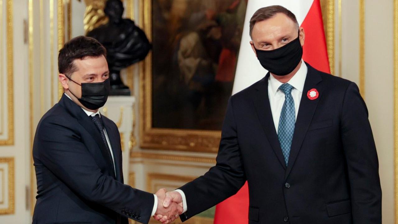 Зеленский и Дуда подписали декларацию о «европейской перспективе Украины»