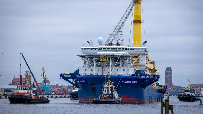 Названы сроки возобновления строительства «Северного потока-2»