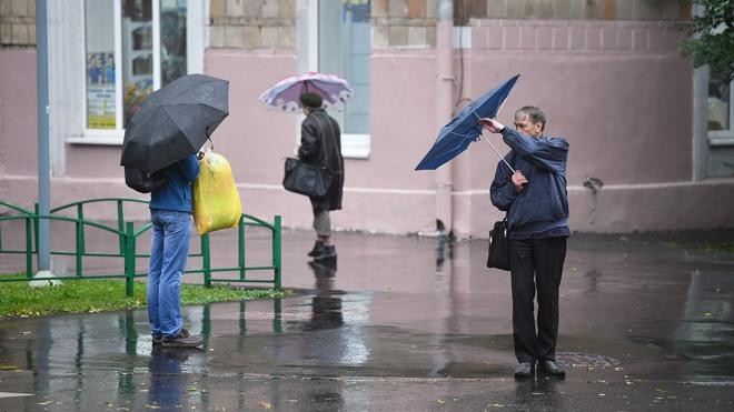 Жителей Москвы предупредили о сильном ветре