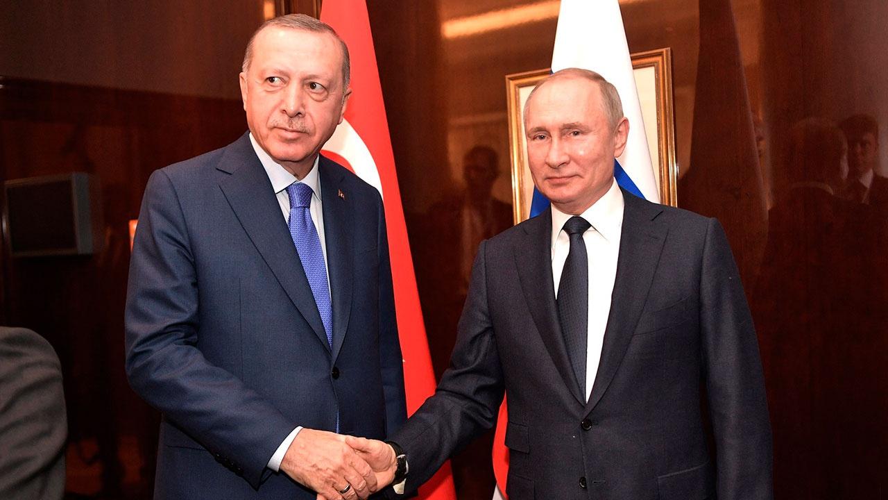 Путин и Эрдоган обсудили урегулирование ситуации в Сирии