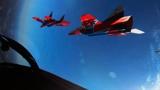 Повелители неба: кадры полетов пилотажной группы «Стрижи» для подготовки к Параду Победы
