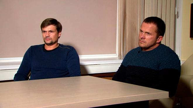 Песков опроверг слухи о работе Петрова и Боширова на Кремль