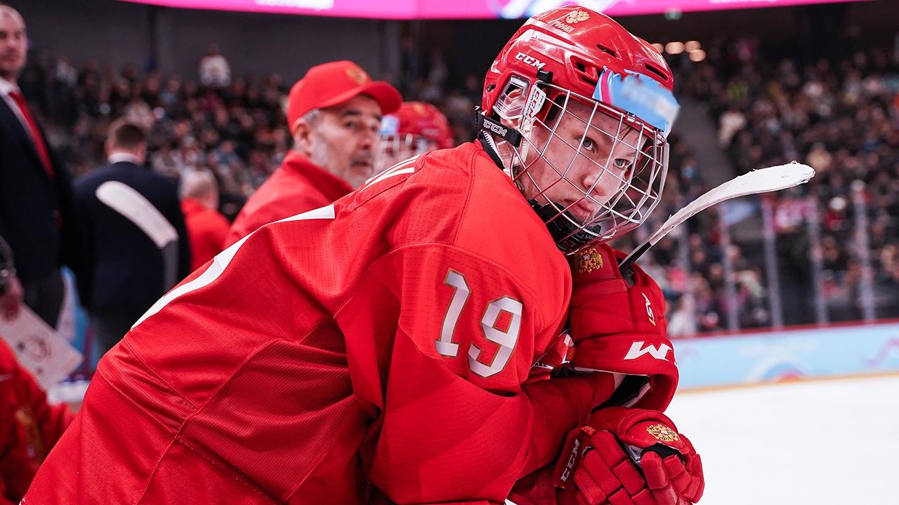 Матвей Мичков признан самым ценным игроком ЮЧМ по хоккею