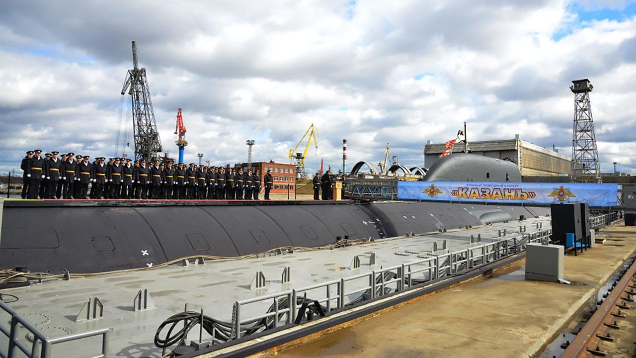 Атомная подводная лодка «Казань» принята в состав ВМФ России